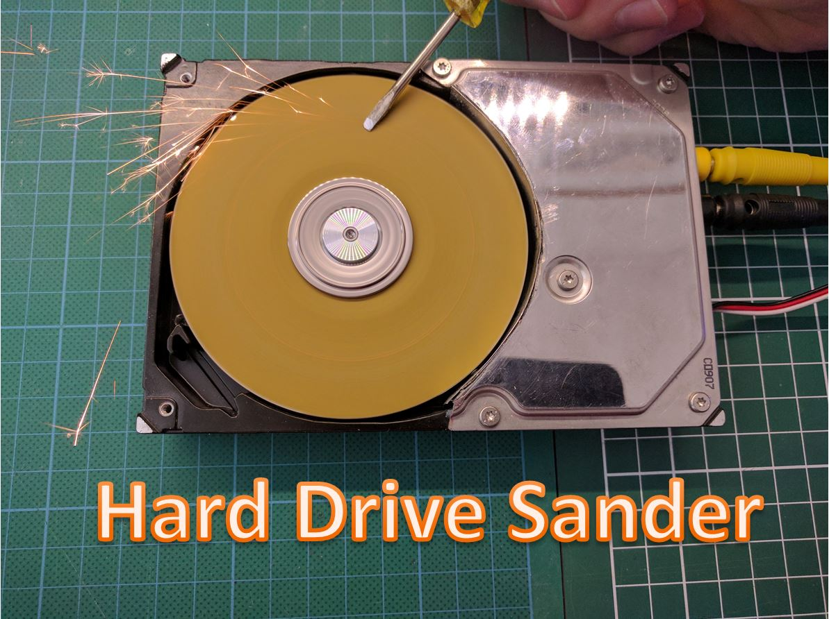 Picture of Hard Drive Sander