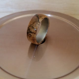 How to Make a Ring With a Wood Inlay