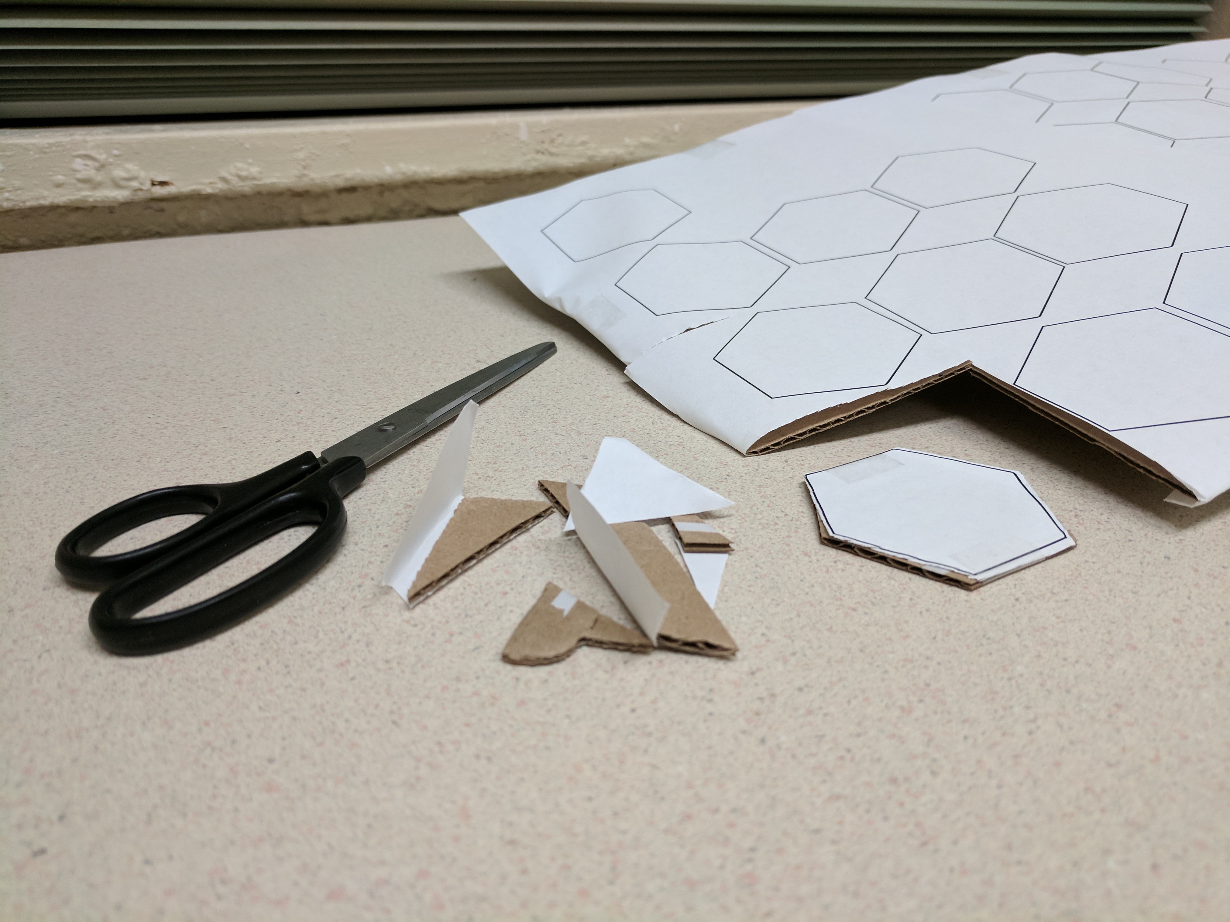 Picture of Papercraft Game Tiles
