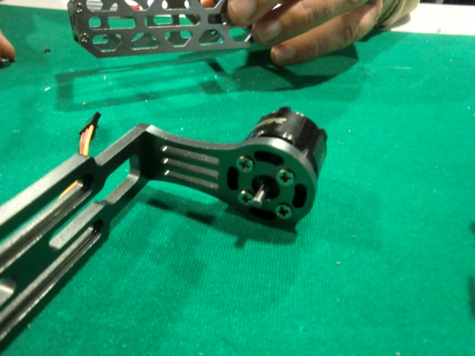 Picture of Install Pitch Motor and Bearings