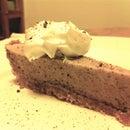 Freckled Chocolate Chiffon Pie