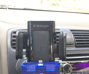 How to Turn a Smartphone Mount Into a Smartphone Dock With 3D Printing