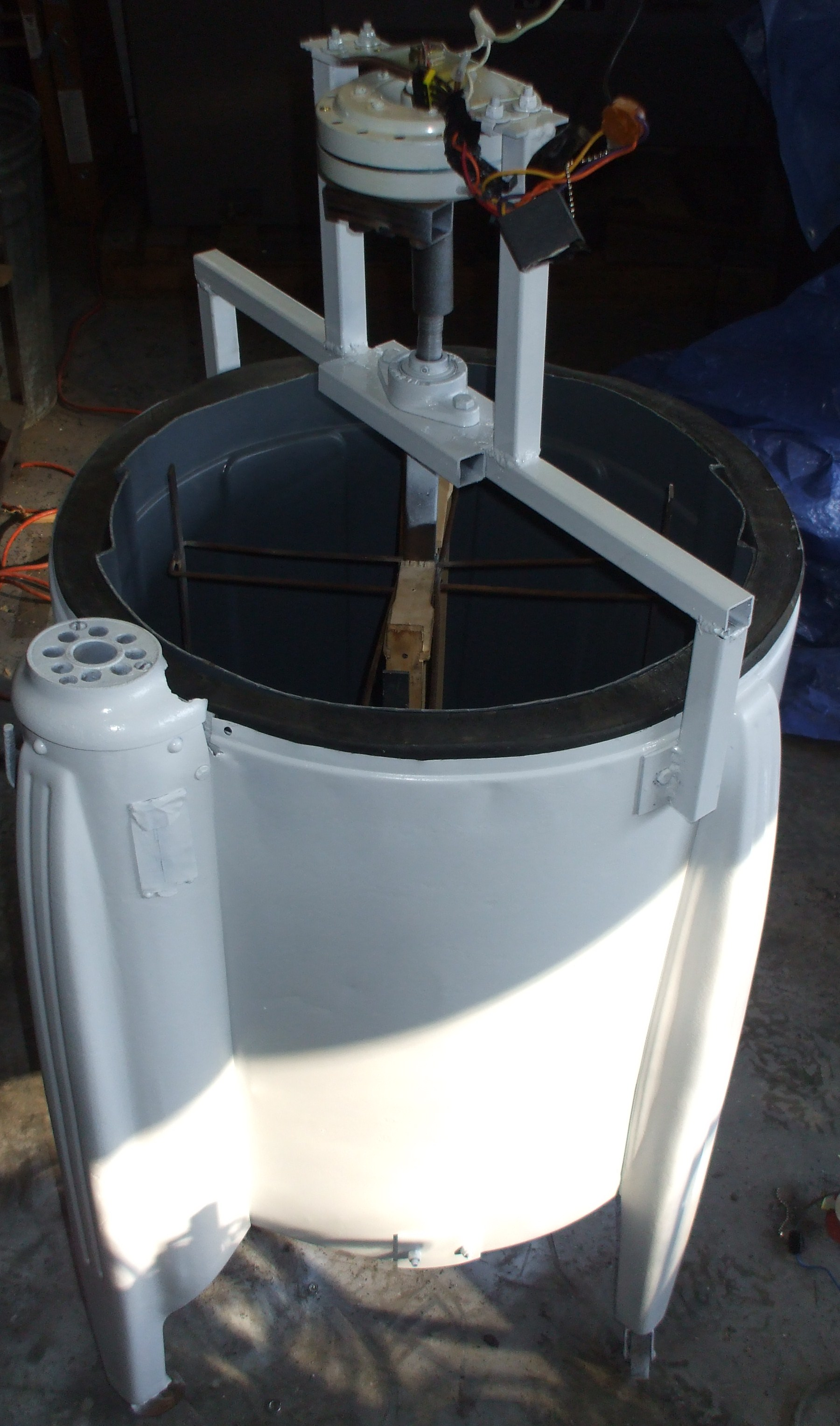 Picture of The Completed Honey Extractor!