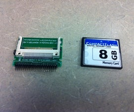 Convert a Laptop IDE Drive to an Affordable Compact Flash SSD.