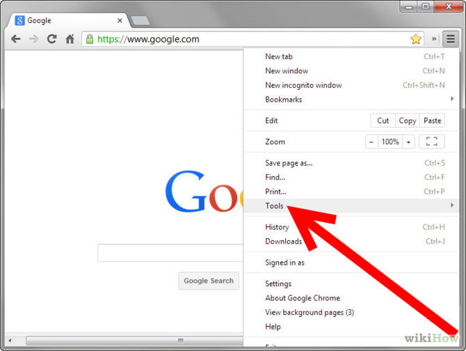 Picture of Tips & Trik Clear Cache for Google Chrome