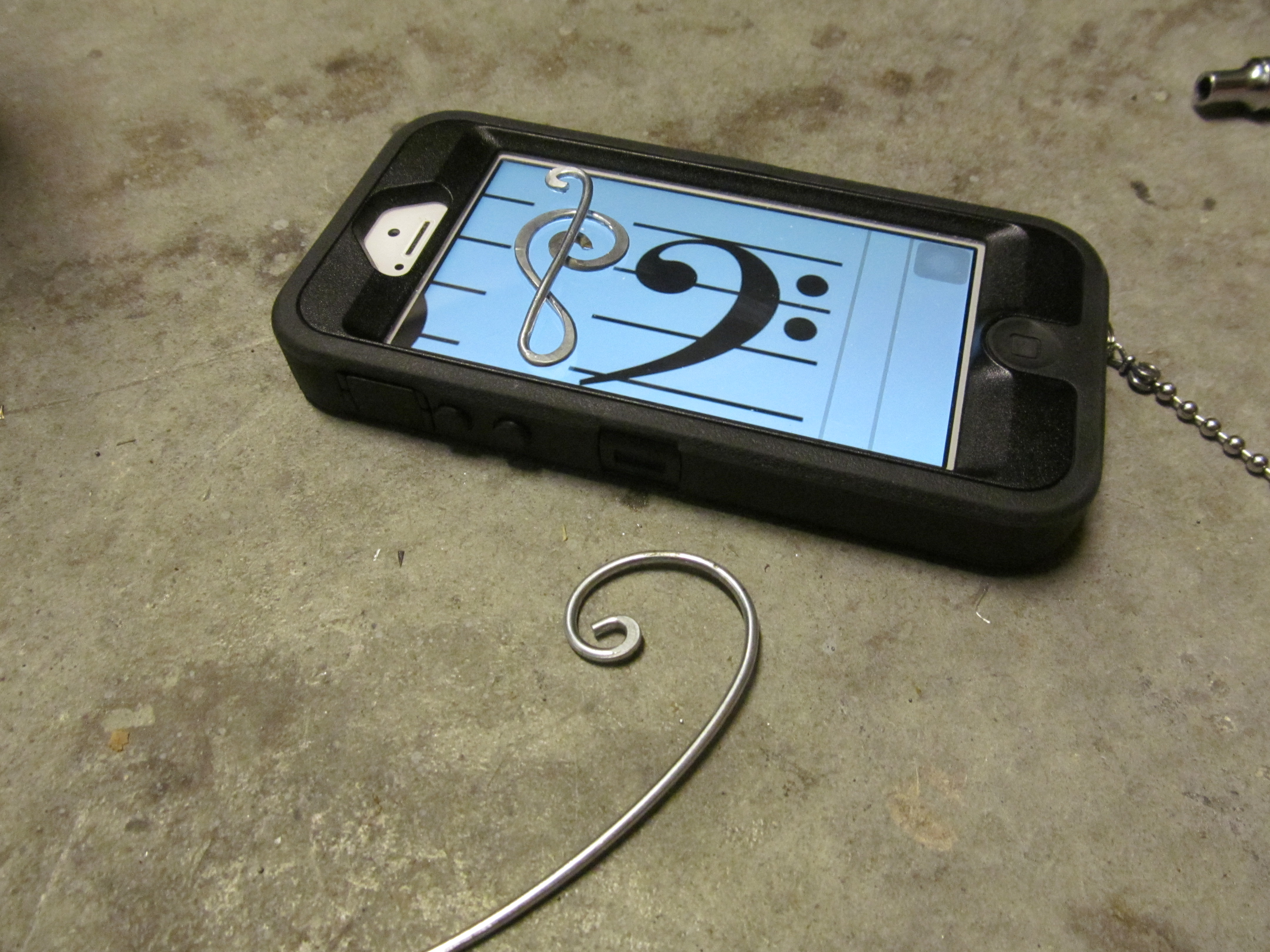 Picture of Making the Bass Clef