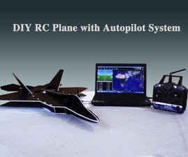 RC Fighter Jet With Autopilot System