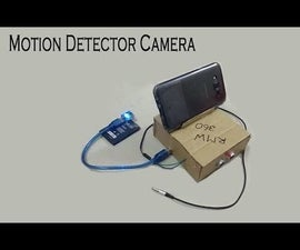 Android Motion Detector Camera | Arduino Project