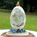 Paradise Bird Egg - Faberge' WannaBe