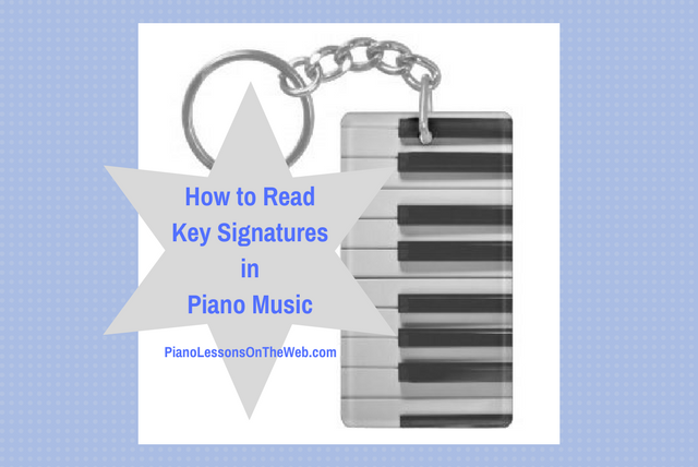 Picture of How to Read Key Signatures in Piano Music