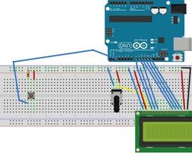 Arduino LCD Interrupts