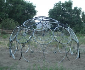 Bicycle tire dome