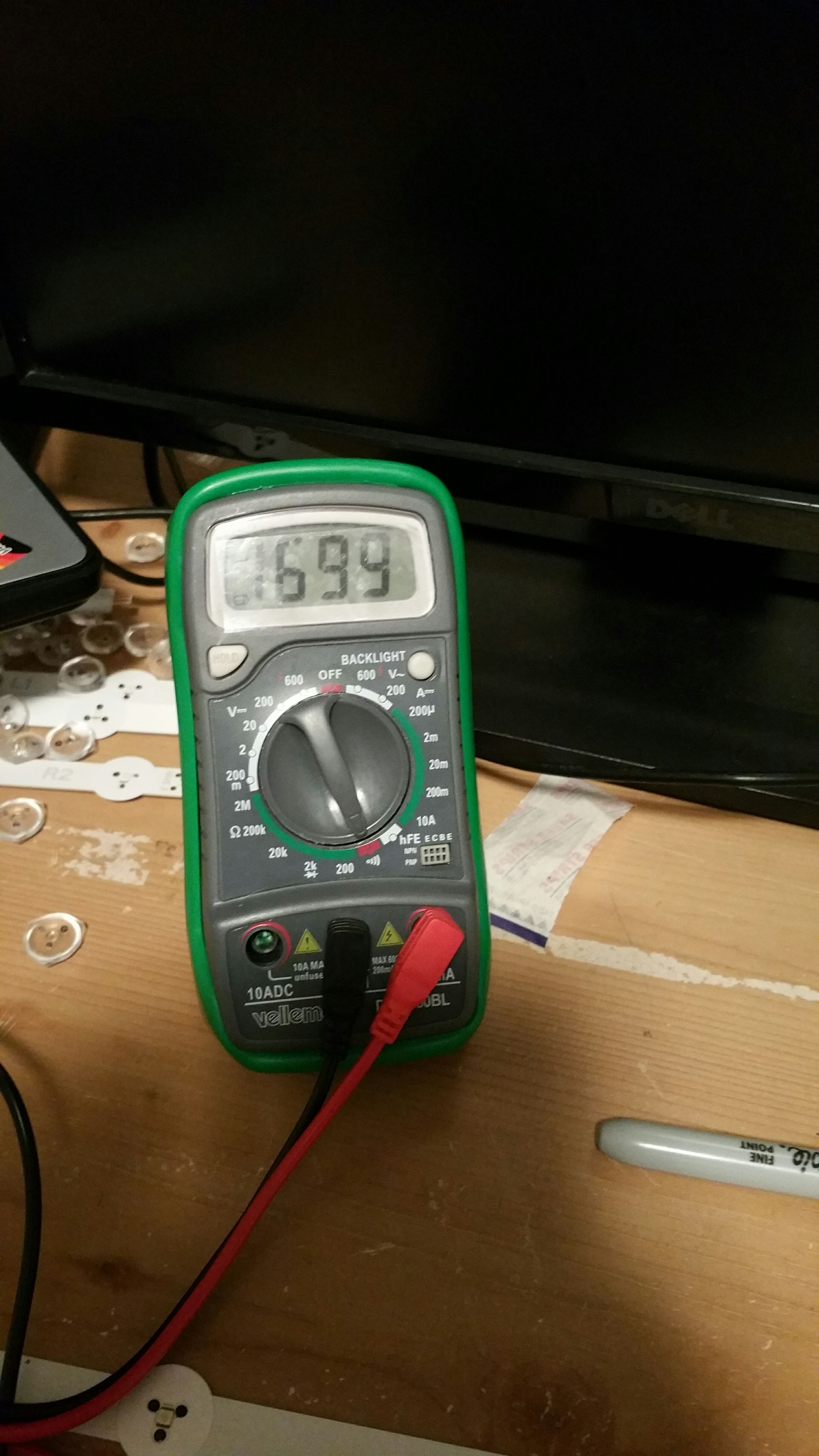 Picture of Getting a Multimeter, and Settings