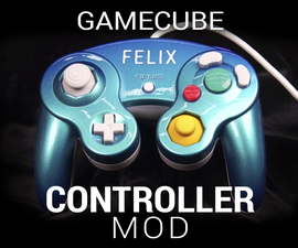 Glossy Custom Gamecube Controller Mod