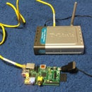 Wireless robot communication through ethernet