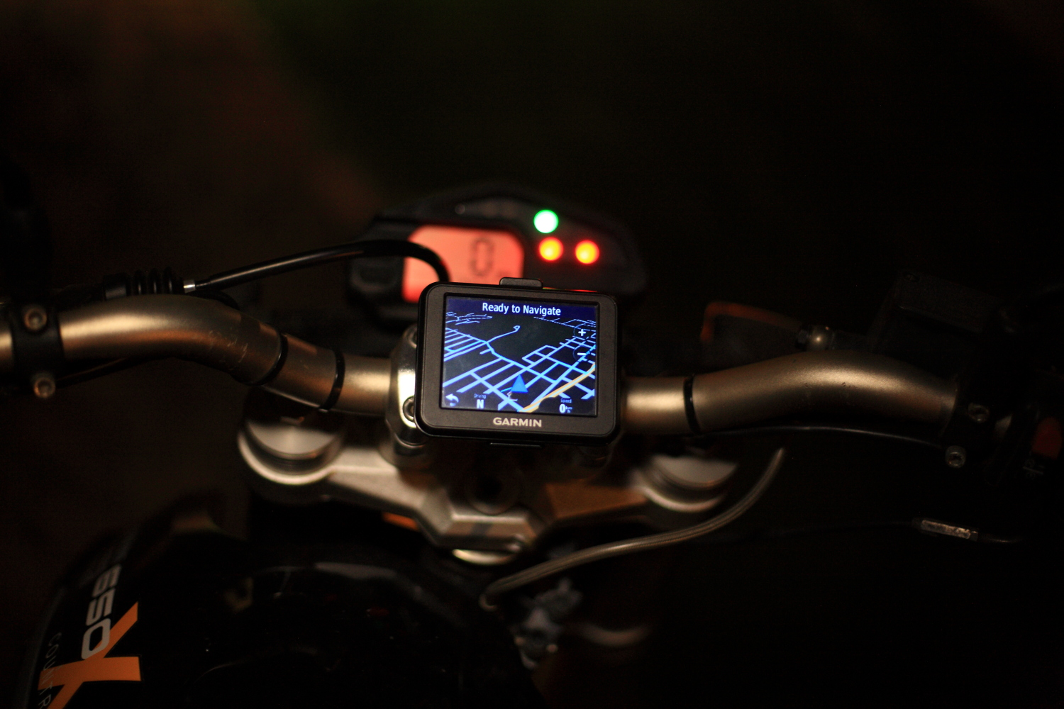 Picture of 3D Printed GPS Motorcycle Mount