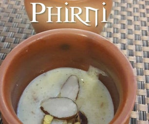 Phirni - Creamy Dessert