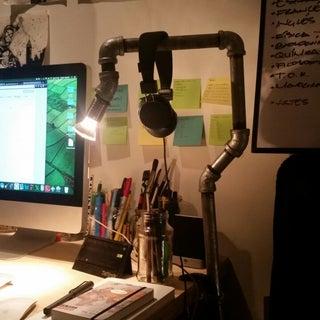 Desk Clamp Lamp