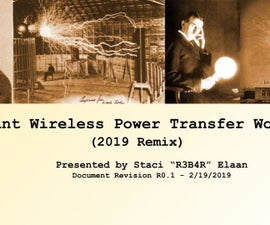Resonant Wireless Power Transfer Workshop