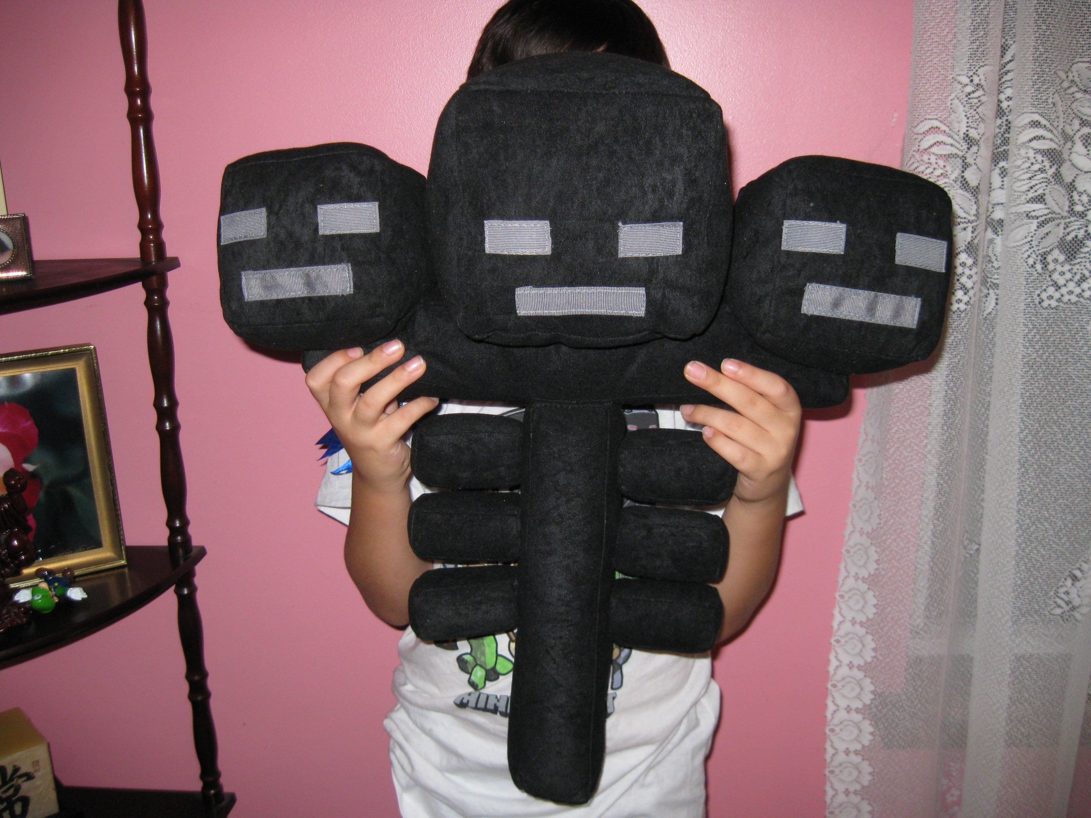 Make A Wither Plushie From Minecraft 11 Steps With Pictures Instructables