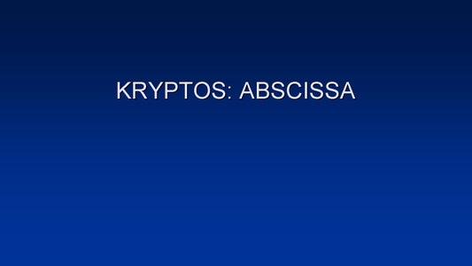 HOW TO SOLVE SANBORN'S KRYPTOS: PART 3 - ABSCISSA