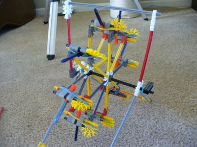 Pics of the Hand Cranked Gatling Gun