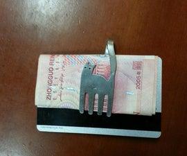 cat money clip