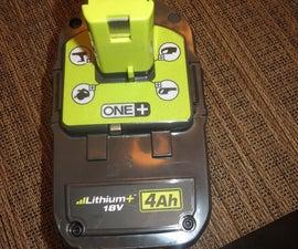 Make a Power Tool Battery Multipurpose