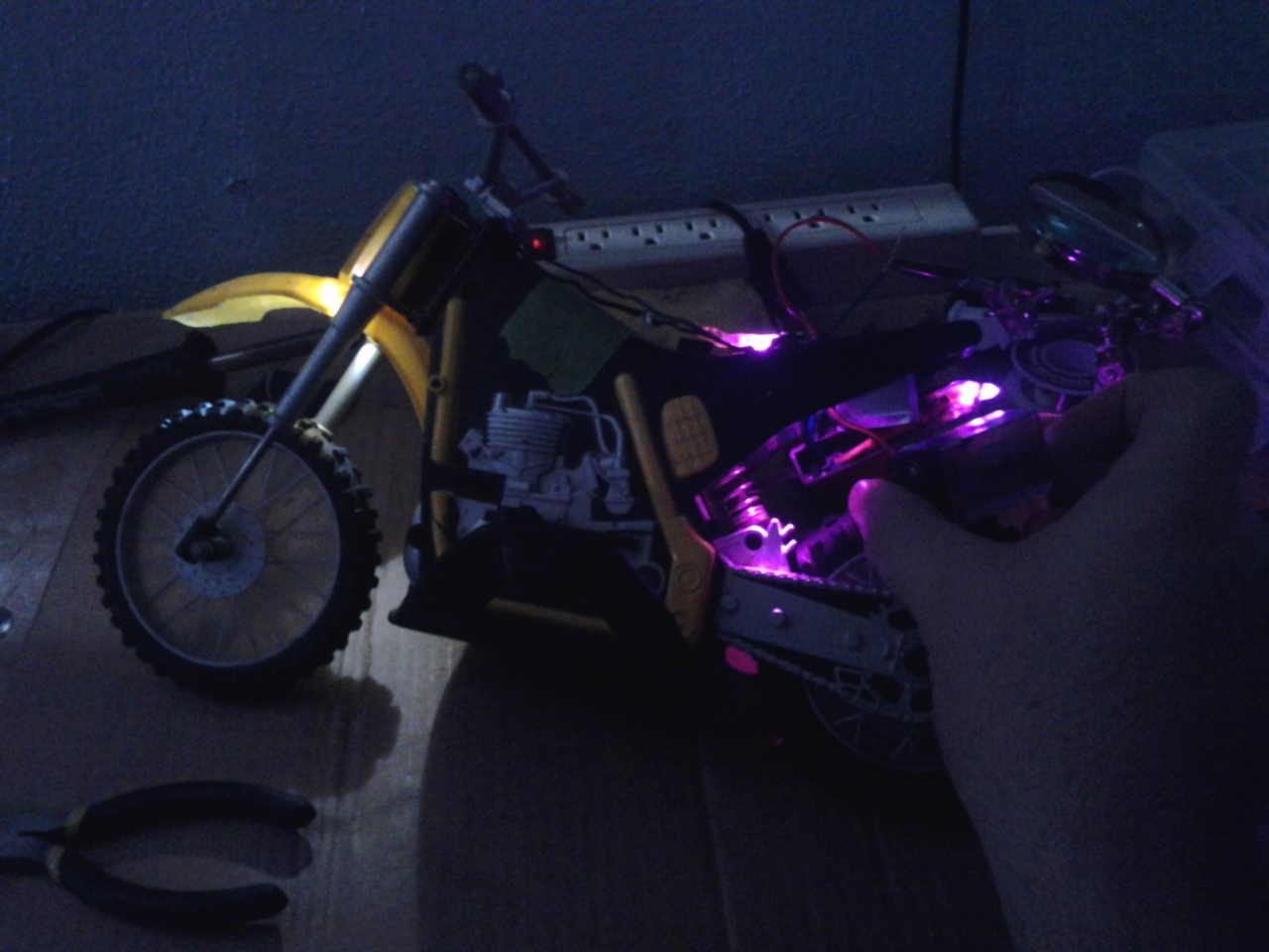 Picture of LED Project for RC Dirtbike