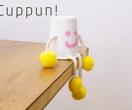 Cuppun! - paper cup doll