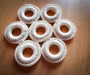 Crochet Ring Coasters