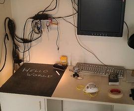 Workbench Chalkboard
