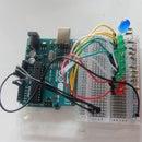 Arduino Temperature Monitor and Visual LED Meter