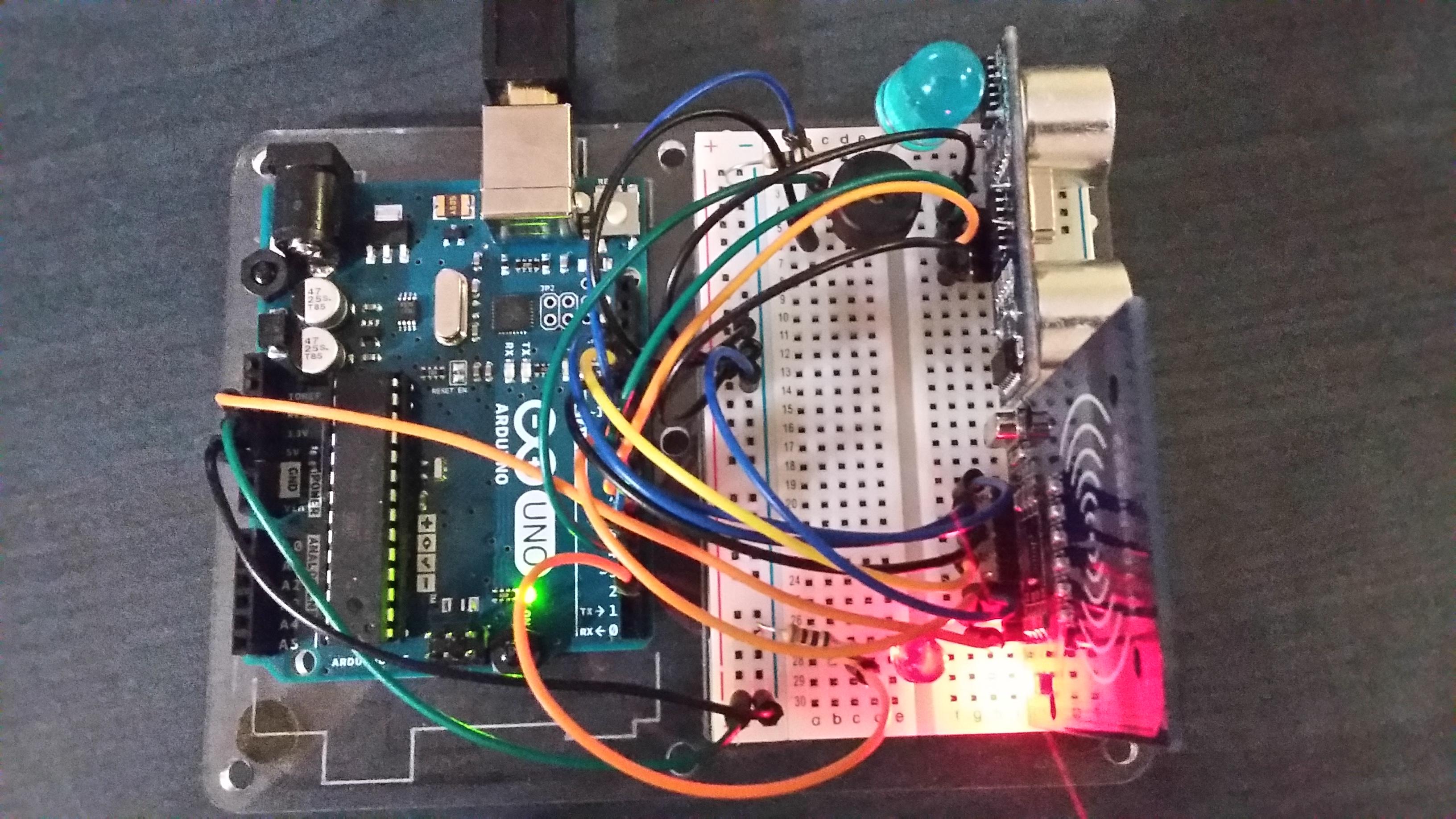 Picture of Arduino Ultrasonic Alarm