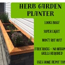 Herb Garden Planter