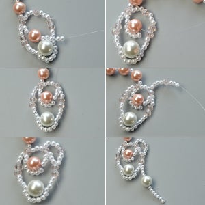 Complete the Drop Pattern of the Necklace
