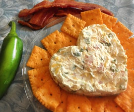 Bacon and Roasted Jalapeno Popper Spread (Mild or Spicy)