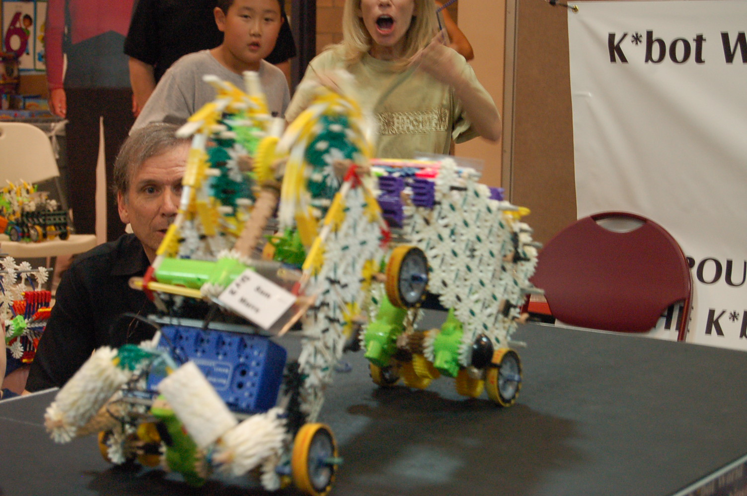 "Picture of Knex ""K*bot"" competitions    (kbotworld.com)"