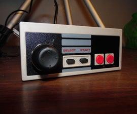 Hack a joystick (into an NES controller)