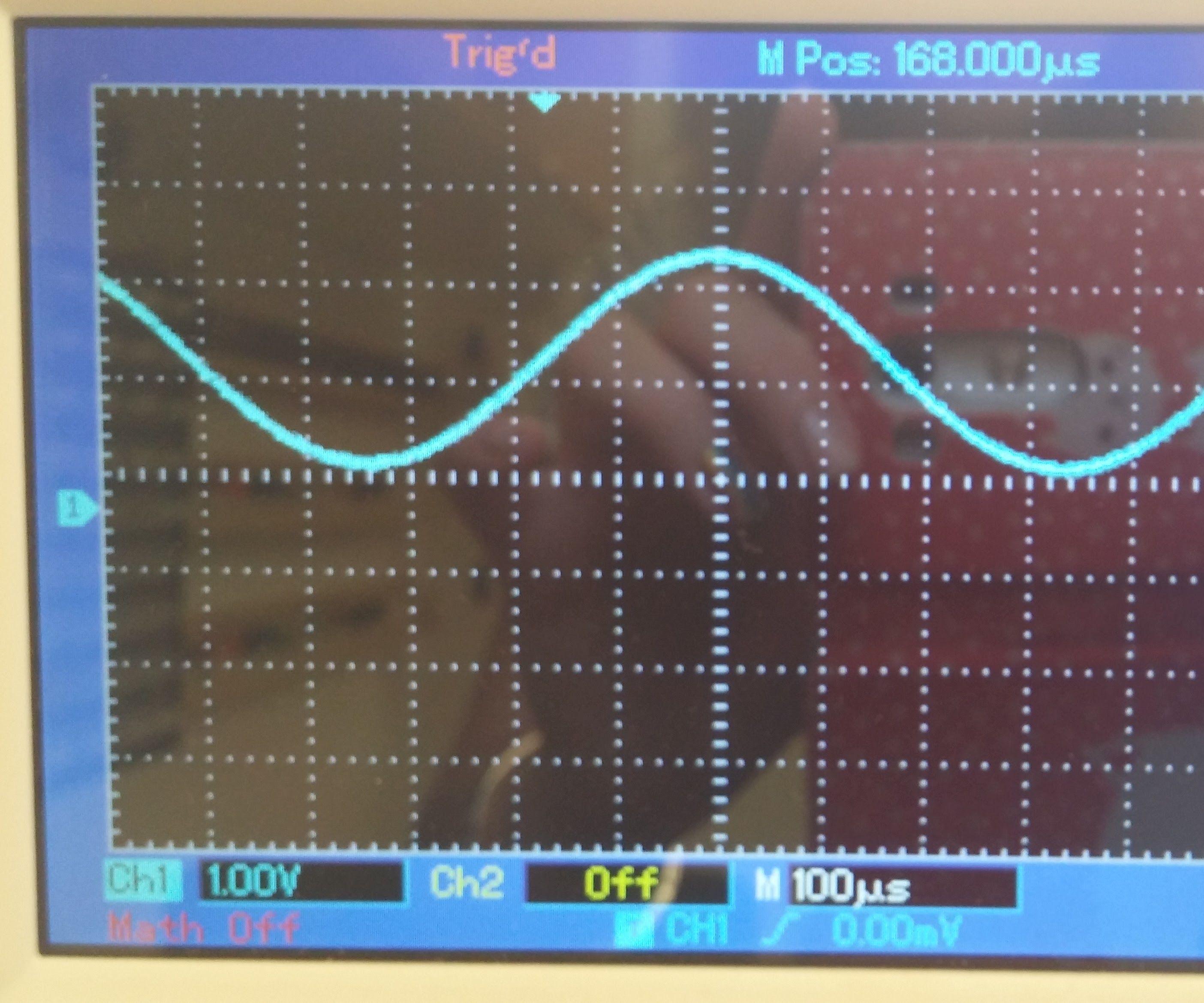 SineWave Generator for Arduino DUE