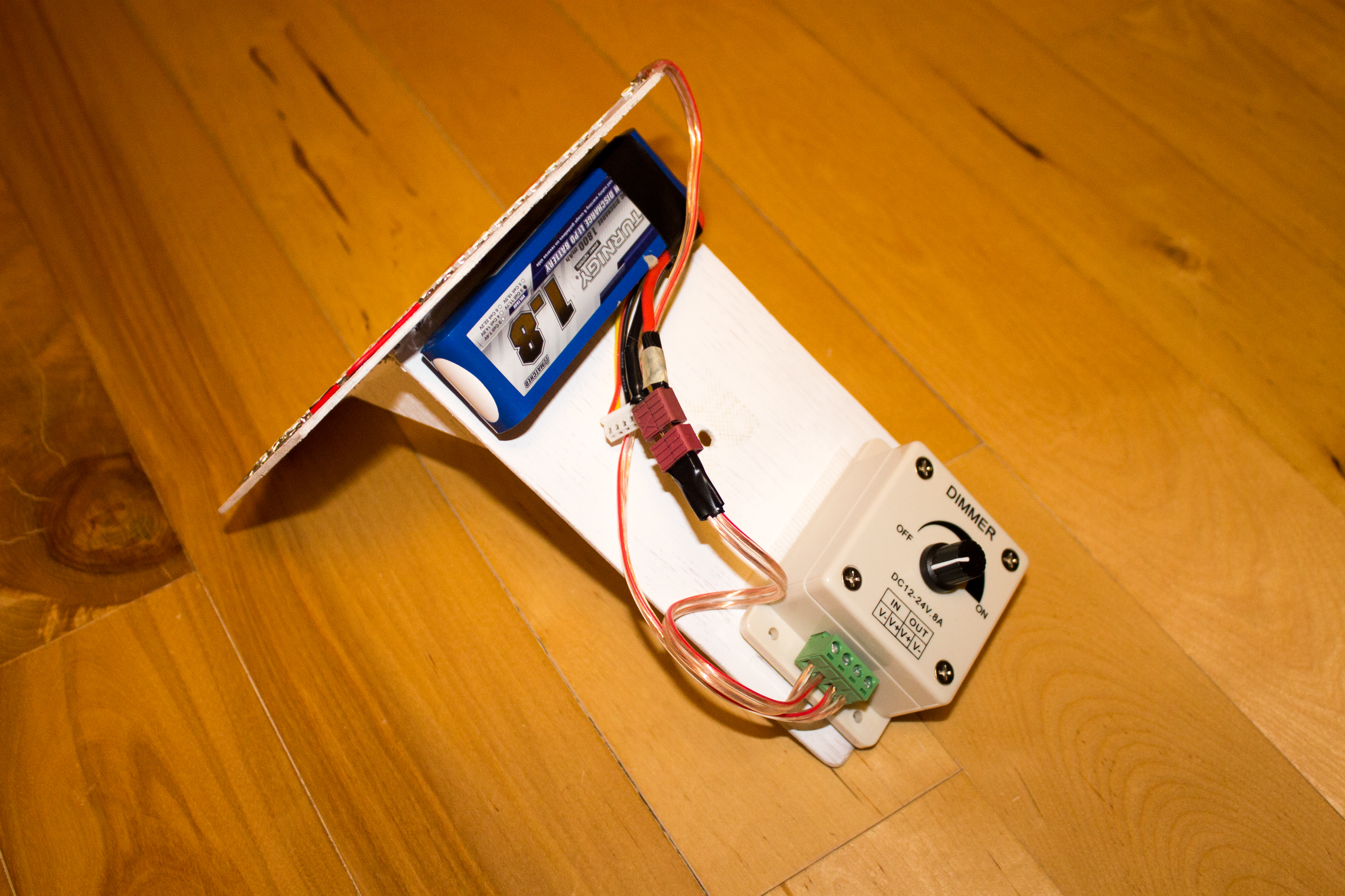 Picture of Connecting the Dimmer and Applying Power