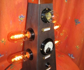 The Dalek, a steampunk desk lamp for the mad doctor