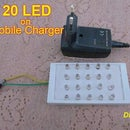 20 LED's on Mobile Charger