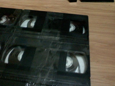 Glue the VHS Tapes