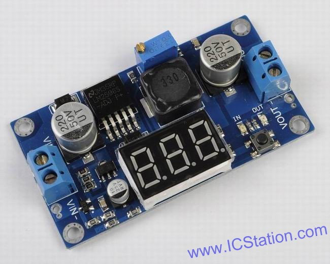 Picture of The Introduction of LM2596 Step Down Power Module DC-DC Converter
