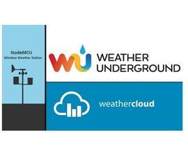 NodeMCU  Wireless Weather Station