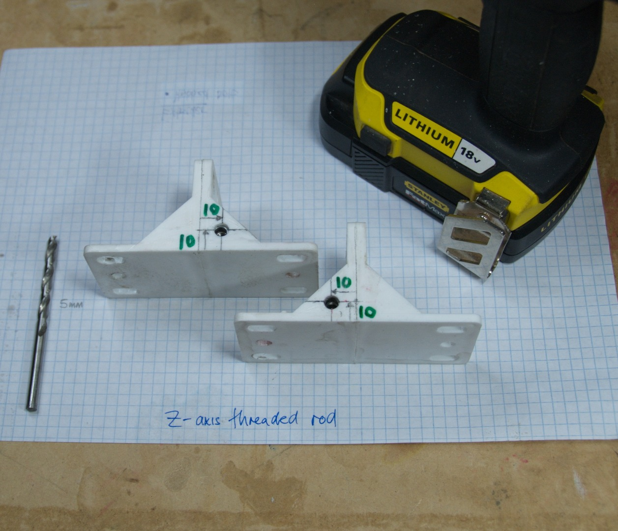 Picture of Z-axis Threaded Rod Carriage (x2)