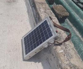 Cargador Solar Multiusos De 10W