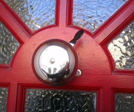 Bicycle bell doorbell