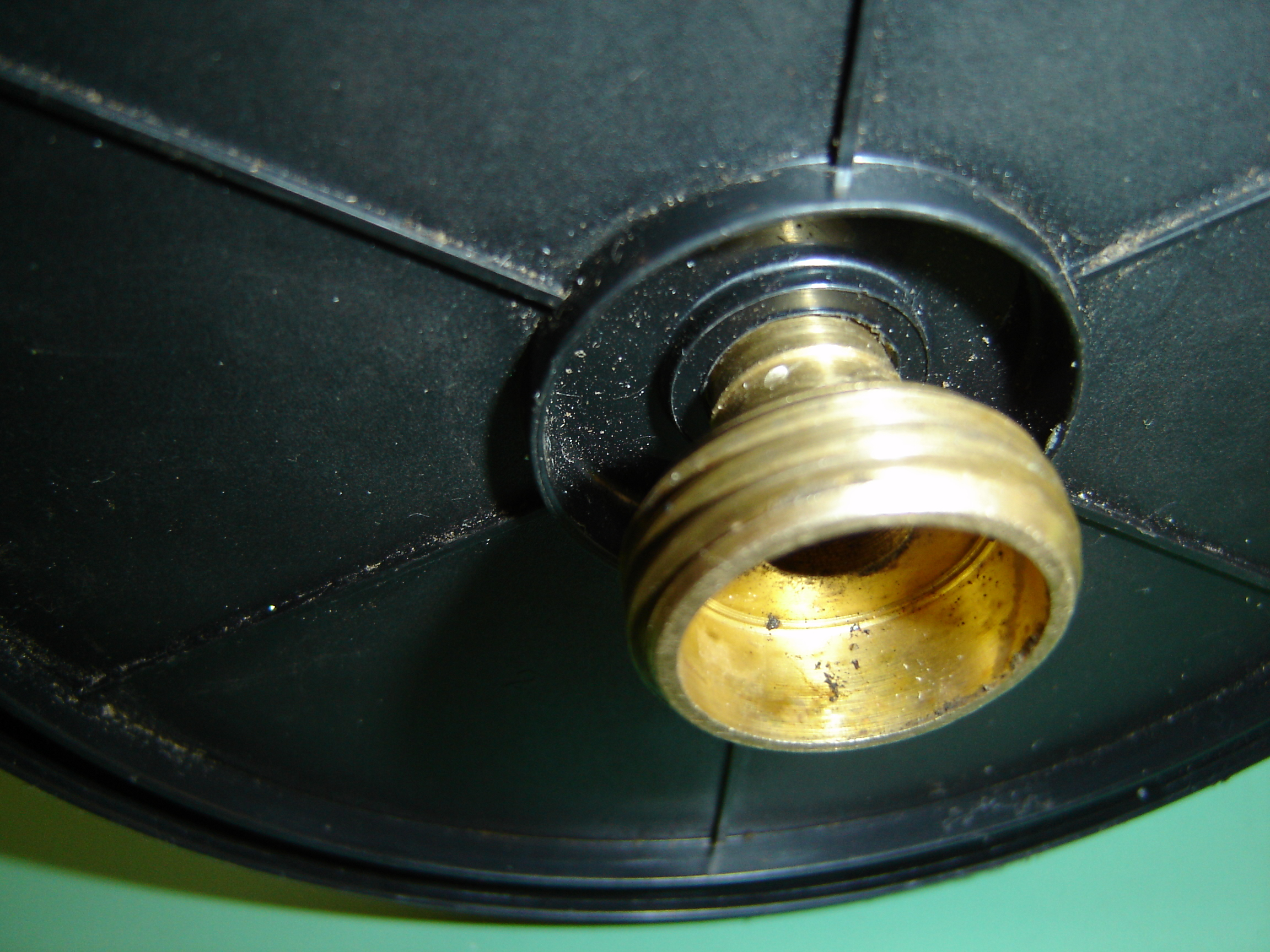 Picture of Prepare the CD Spindle.